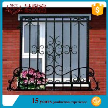 Yishu Supplier Wrought Iron Window Railing Designs Buy Window