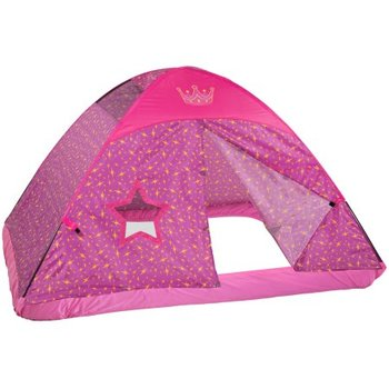 Principessa rosa Letto Full Size Tenda Bambini Fantasia Facile Set Up Playhouse