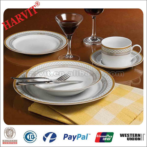 Exclusive Dinnerware With Simple Line And Circle Design Germany Dinnerware Sets Porcelain & Exclusive Dinnerware With Simple Line And Circle Design Germany ...