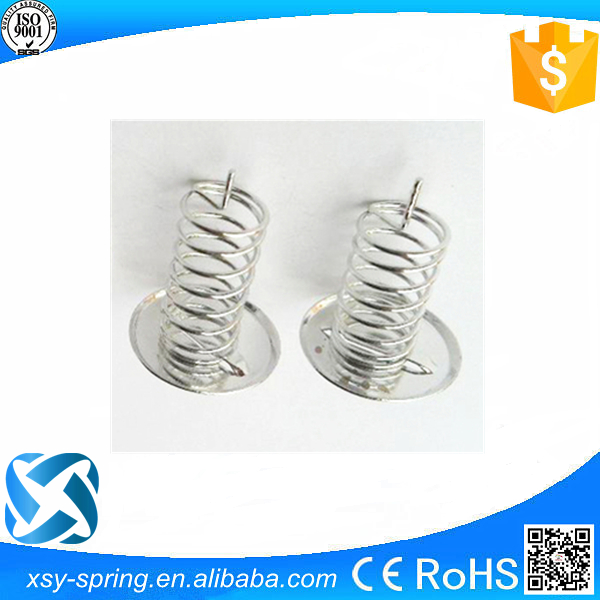 Stainless steel combined coil spring touch key touch button spiral spring