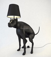 Antique Fancy Animal Floor Lamp Resin Floor Lighting for Railway sation