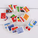 full color printed gift flag rubber eraser for advertising use