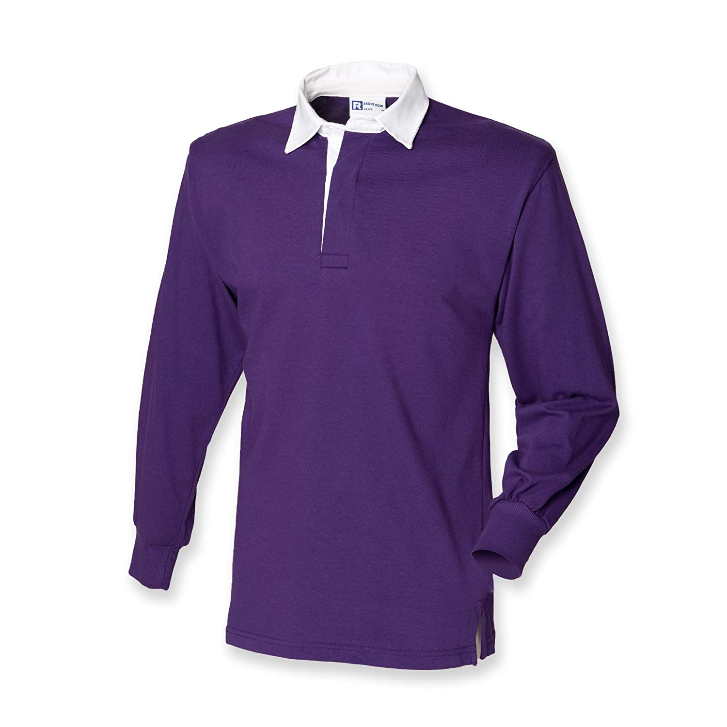 Get Quotations Front Row Long Sleeve Clic Rugby Shirt 14 Colours S Deep Purple