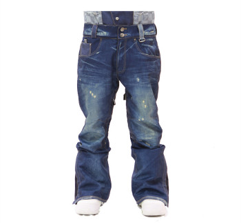 Custom 100% cotton snowboard pants mens fashion Ski trousers ski jean pants be0dc5de2
