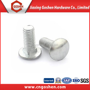 Industrial use DIN603 M5-M20 carbon steel grade 8 carriage bolt