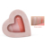 Wholesale Heart Shape 3 Color Highlighter Eyeshadow Palette