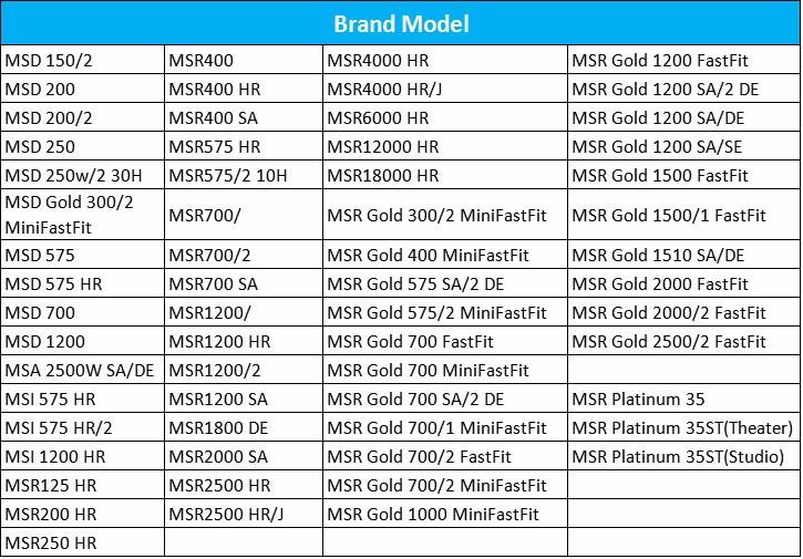MSD MSR Phili Series