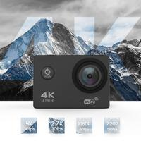 DveeTech Hottest cheapest price mini sports camera outdoor extrem 4k cam 30fps 16MP 30M waterproof action camera