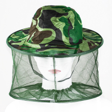 Fashion  Mosquito Cap Women Men Midge Fly Insect Bucket  Hat Fishing Camping  Field Jungle Mask Face Protect Cap Mesh Cover
