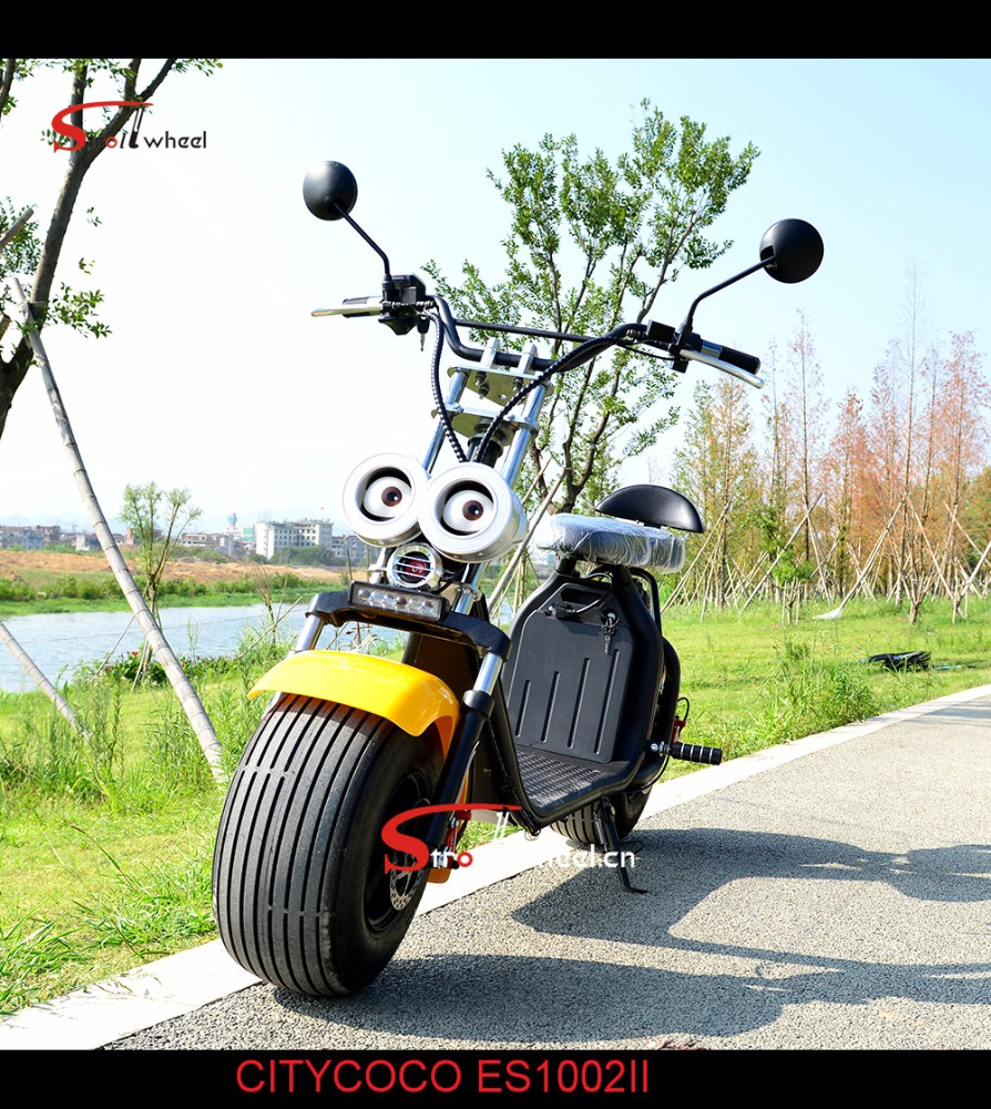 2018 new design hot sale two wheel <strong>electric</strong> scooter mini citycoco/ woqu/seev scrooser