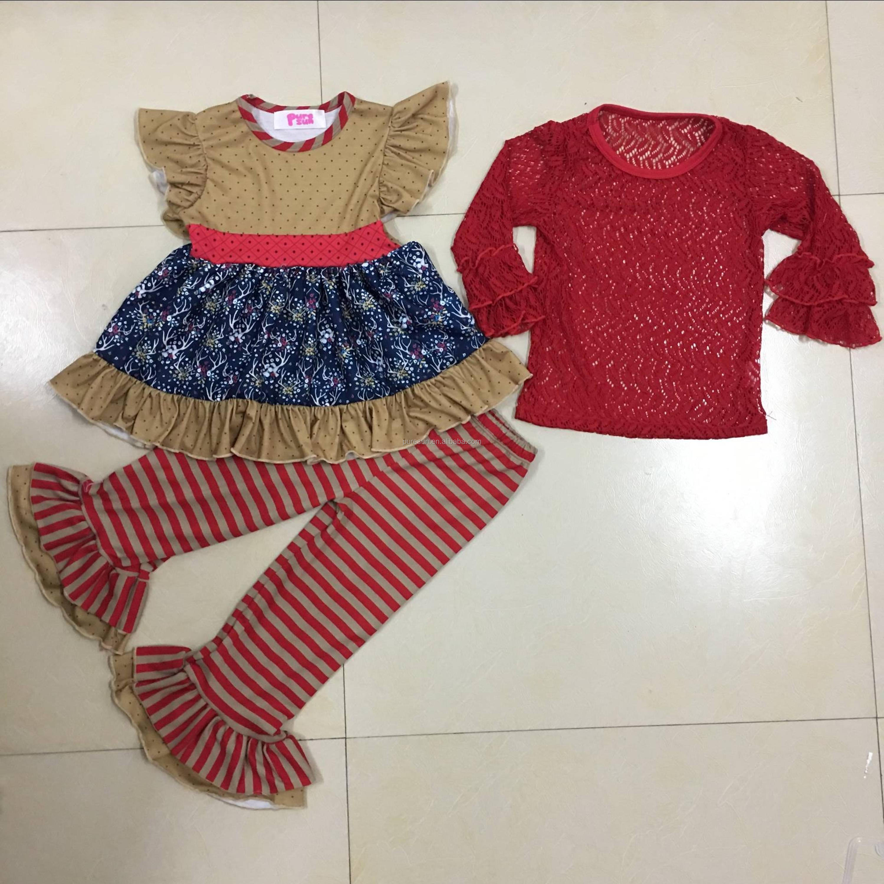 Wholesale Baby Clothes Little Girls Boutique Remake Clothing Sets
