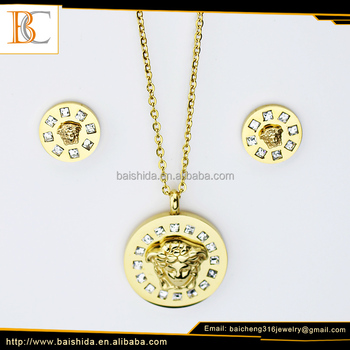 fine costume jewelry necklace earrings set bulk products from china
