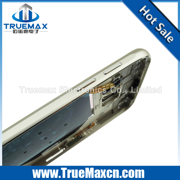 For Samsung Galaxy S6 Middle Frame with small parts, for Samsung Galaxy S6 Spare Parts