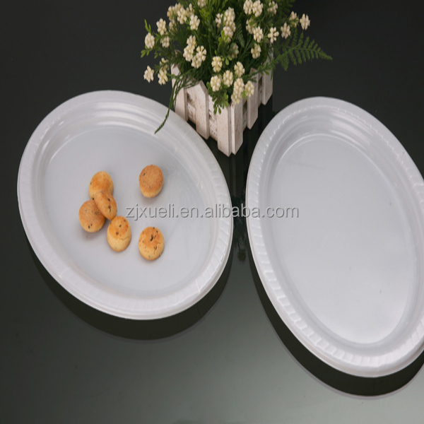 12 inch clear disposable plate wholesale ps fancy plastic plate