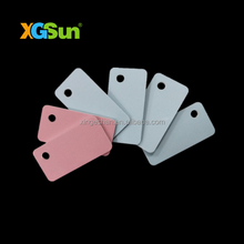 Reusable PVC rfid ucode tag for rfid jewelry management