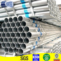 seamless well casing zinc coated galvanized steel pipe in stock for oil and gas pipeline