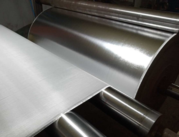 Aluminum Foil coated Fiberglass cloth for heat insulation fireproof  from China Factory ROCKPRO