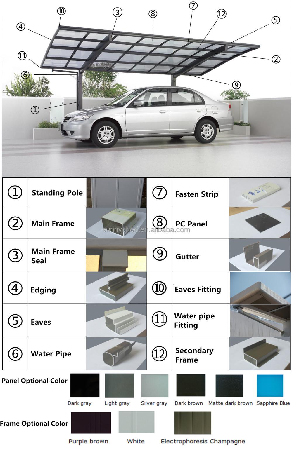 Cheap China Roofing Materials Japanese Carport Buy
