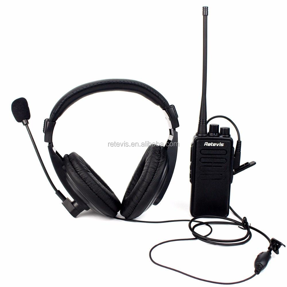 The latest 150cm long K1 2 Pin VOX Headset headphone For RETEVIS/KENWOOD/BAOFENG/TYT/WOUXUN/PUXING Two Way Radio Retevis R-114