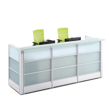 Mesa Moderna Diseño Mfc Muebles De Oficina De Madera Vidrio Mesa Mostrador  De Recepción - Buy Mesa Mostrador De Recepción,Diseño De Madera Mesa ...