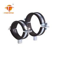 stainless steel saddle pipe clamps