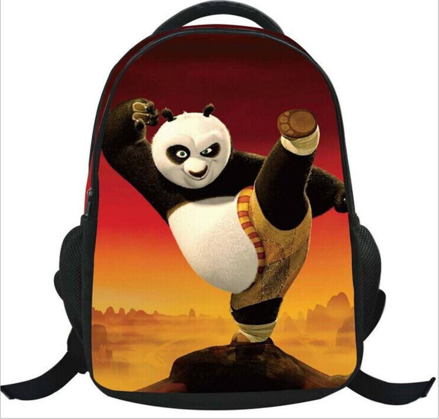 Get Quotations · 2015 Cartoon animation effort panda Zipper Backpack With  Child Schoolbag For Kid kawaii Backpack Randoseru School 0b30e0b497b84