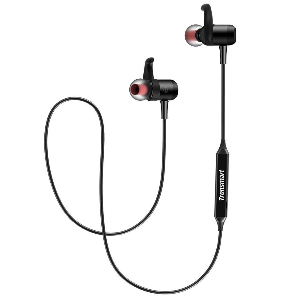 Newest Original Tronsmart Encore S1 <strong>Bluetooth</strong> 4.1 Sport Headphones With IPX34 Rated Water-Resistance In Stock