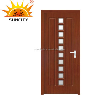 Sc P065 Pvc Mdf Frosted Glass Interior French Doors Buy Frosted