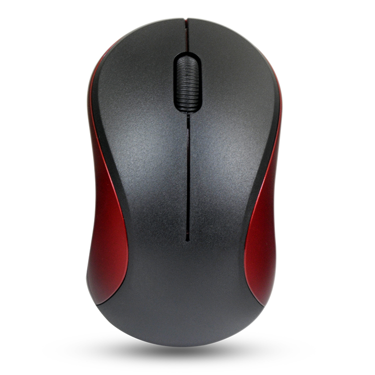Gray Ugood 2019 2.4GHz 3D Wireless OpticalMouse Gaming Mouse for PC Laptop Games