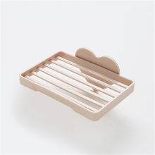 Ванная комната Кухня настенный сливная присоска полый держатель для мыла в форме сердца присоска мыльница(Китай)