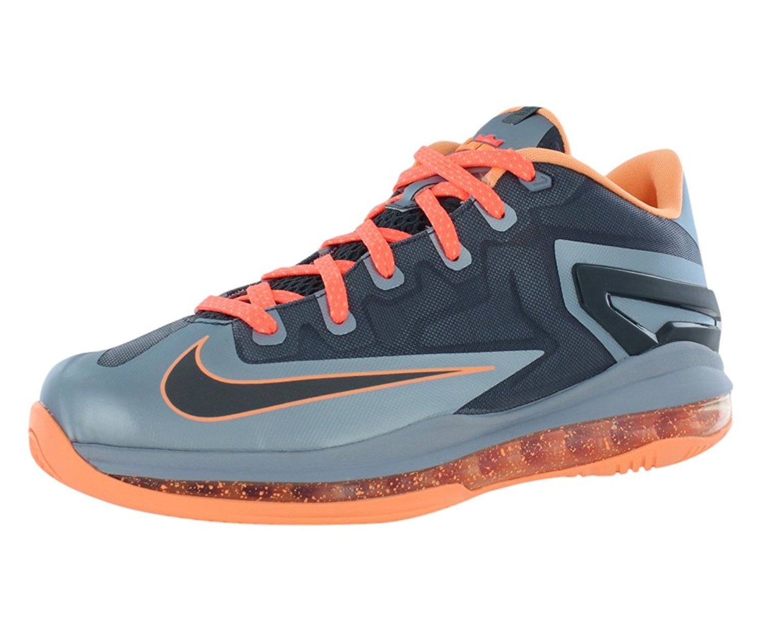 best website bcb62 6d298 Get Quotations · Nike Air Max Lebron XI Low (GS) Boys Basketball Shoes  644534-004 Black