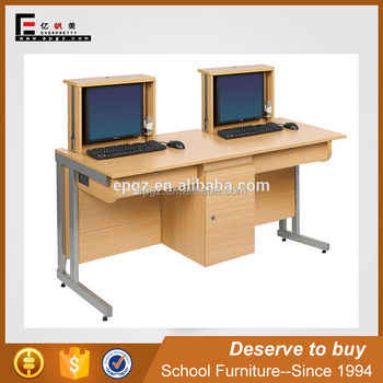 Best Price Computer Table Design For Computer Lab Buy Computer