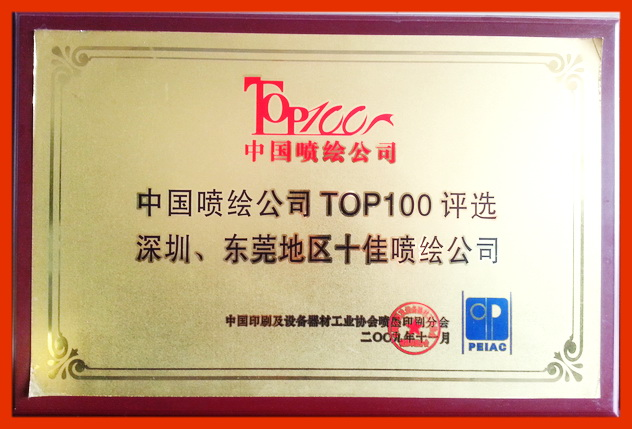 Chinese painting company 100 strong