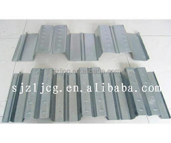 Yx76-344-688 Galvanized Metal Floor Decking Corrugated Sheet Steel ...