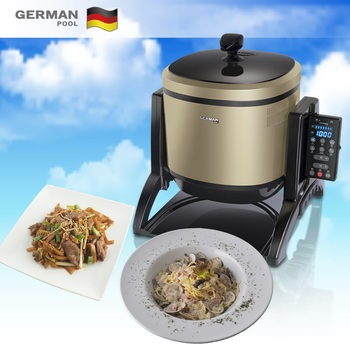 German Pool High Tech Safe Chinese Dishes Flameless Baked Robotic