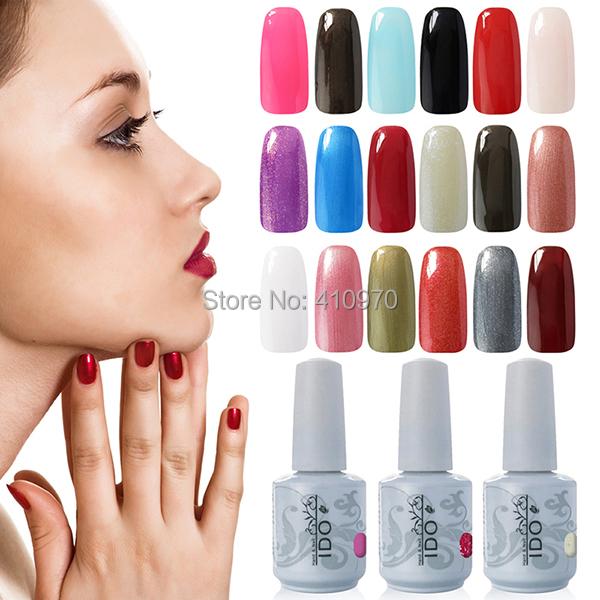 Hot Sales 302 Colors IDO Any 1Colors UV Nail Art Led Lamp Gel Nail Polish