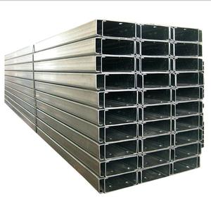 MJ steel Hot Selling Galvanized C Beam Strut Steel C Channel U Channel Price