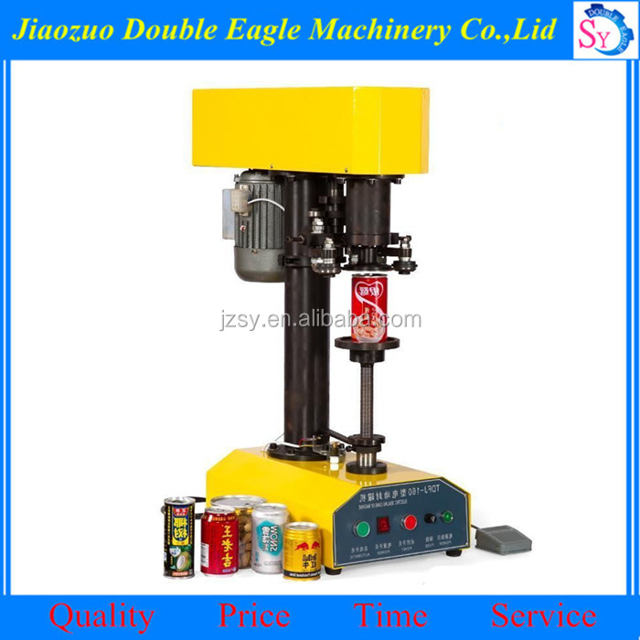 High quality Electric Type Can Cap Capping Machine/Food pet capper for sale