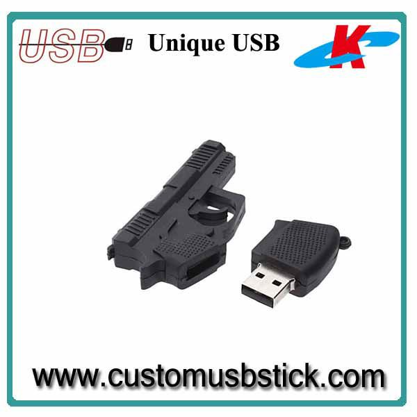 cool pistol shape usb flash 1GB