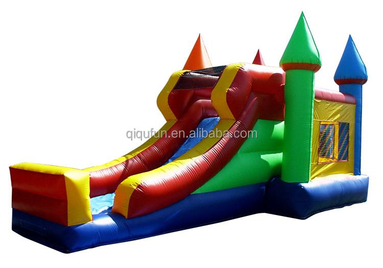 Divertente per bambini piscina gonfiabile scivolo buttafuori in vendita gonfiabile combo - Scivolo gonfiabile per piscina ...
