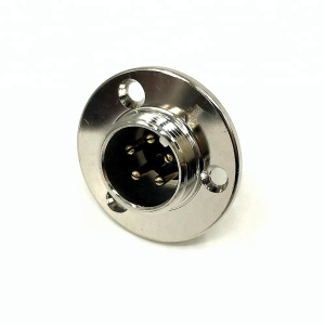 Gx18 Din 5pin Circular Panel Mount Male Female Connector