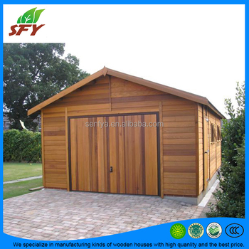 Good Manufacturer Of Prefab Wooden Garage With High Quality And The Best Price