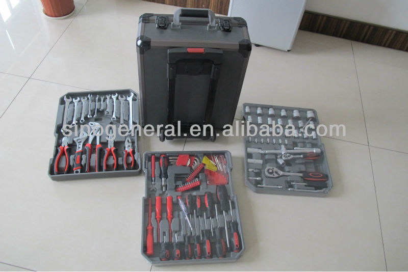 186pcs combination hand&machine complete tool kits