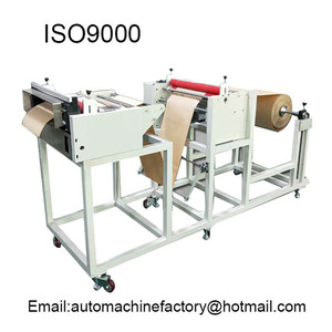 automatic paper roll to sheet cutting machine for cutting roll into sheet or pieces