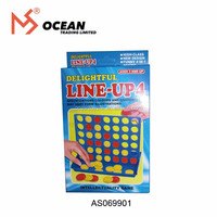 Family fun bingo board game line-up 4 connect game