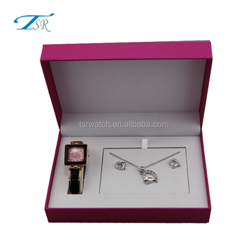 Wedding Las Watch Gift Set Custom Logo Available Promotional Including