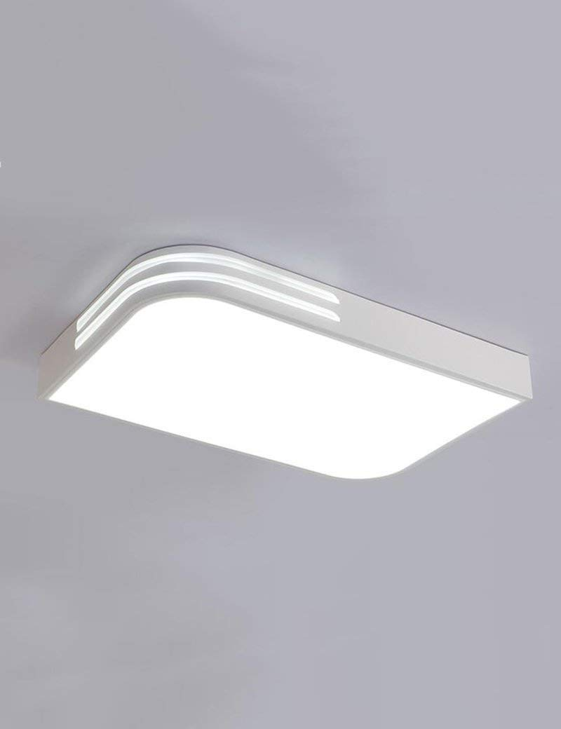 XQY Ceiling Light-Square Led Iron Ceiling Lights Simple Modern Living Room Warmth Romantic Bedroom Ceiling Lights - Energy Saving