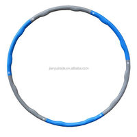Fitness Plastic Exercise Magnetic Massage and Detachable Hula Hoop for sale