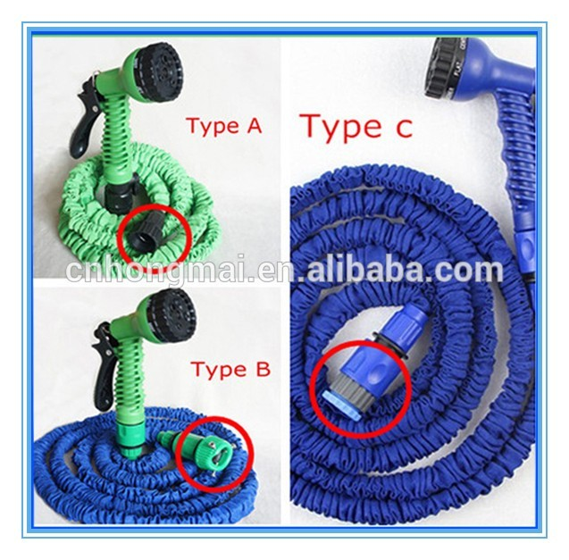 Shopping Expandable Garden Hose Spray Nozzle Combo 50 Foot