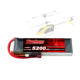 5000mAh 11.1V 3 Cell 25C Ratings LiPo Battery Soft Pack with Balance Connector